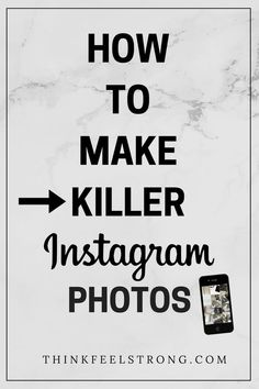 Learn how to make killer Instagram photos - how I do it and the tools I use!