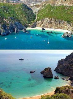 Praia Ribeira do Cavalo - Sesimbra, Portugal