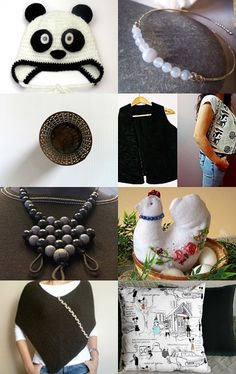 ~ ALMOST, BLACK AND WHITE ~ by Cappriell McQuiston on Etsy--Pinned with TreasuryPin.com