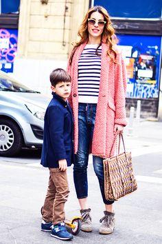 stylish mom