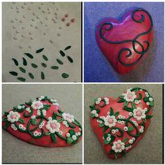 Mini tutorial sul cuore fiorelloso