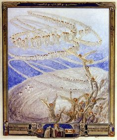 Franz von Bayros  Illustration from Dante's 'Divine Comedy', Paradise