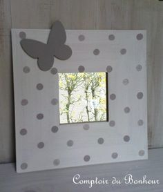 cadre pois papillon Diy Projects, School, Frame, Vintage, Home Decor, Paper Crafting, Gifs, Home Made, Mirrors