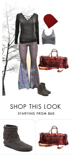 early spring travels by sacredempire on Polyvore featuring Minnetonka and Neff