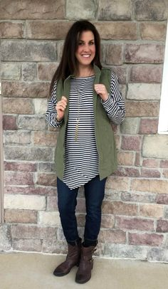 cabi striped top and