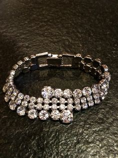 Hollywood Glamour Vintage Cocktail Bracelet by FribblePistol