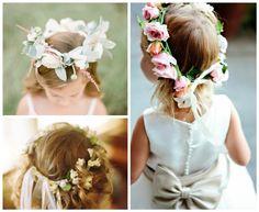 Coronas de flores para bodas y novias