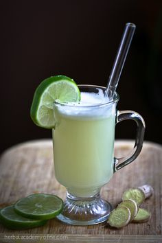 Spiced Ginger-Lime Juice / Three Reasons to Eat Ginger During Wintertime - Herbal Academy
