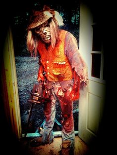 Chainsaw Freddie is waiting for you at the Wicked Forest Haunted Attraction