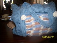 I LOVE this bag pattern!