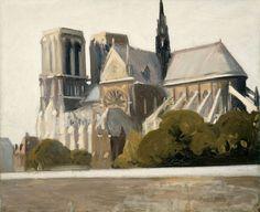 Edward Hopper, Notre Dame, 1907