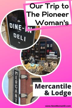 All about our girls' trip to the Pioneer Woman's visit to the Mercantile, Deli, Bakery, and Lodge in Pawhuska, OK. Plus other fun things to do! Oklahoma Tourism, Autumn Activities, Pioneer Woman, Deli, New Moms, Fun Things, Family Travel, Bakery, Road Trip
