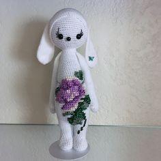 RITA the rabbit made by Sally / crochet pattern by lalylala