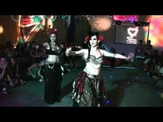 """Start Wearing Purple"" Tribal Fusion Bellydance - <3 this song"