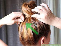 Image titled Make a Top Knot Bun Step 4