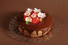 S pařížskou šlehačkou Panna Cotta, Pudding, Cake, Ethnic Recipes, Desserts, Food, Drink, Black, Tailgate Desserts