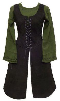 Recopilación hecha por hadita de patrones de diferentes peyotes de cuero, útiles para mujeres almogávares.
