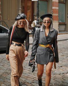 Street Style, Fashion Week, Off White, Hypebeast, Hypebae Street Style Outfits, Looks Street Style, Fashion Outfits, Fashion Trends, Dark Fashion, High Fashion, Winter Fashion, Lola Fashion, Style Fashion