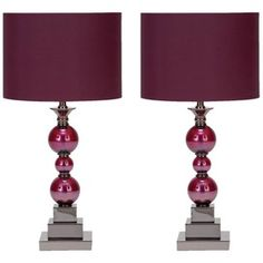 Bennie Table Lamp (Set of 2)  https://www.jossandmain.com/Gorgeous-Gems~E2265.html