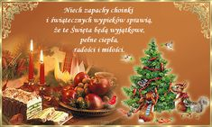 Życzenia z okazji prawosławnych Świąt Bożego Narodzenia - www.cegielnia.fora.pl Christmas Wishes, Merry Christmas, Christmas Ornaments, Holidays And Events, Wonderful Time, Holiday Decor, Crafts, Christmas, Merry Little Christmas