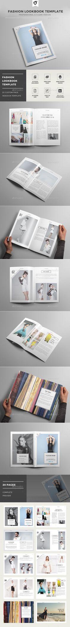 Fashion Lookbook Template - Catalogs Brochures