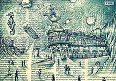 1908 #illustration #postcard #newspaper #intendente #hotel1908 #lisboa   instagram.com/oalfalone