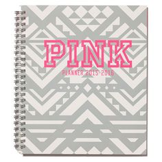 Victoria's Secret PINK Student Planner found on Polyvore
