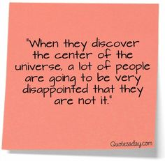Narcissists beware...