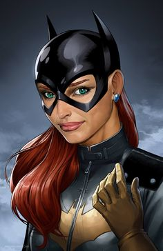 Batgirl by Mike S. Miller *