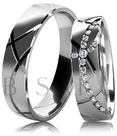 Snubní prsteny Bisaku Vintage B38