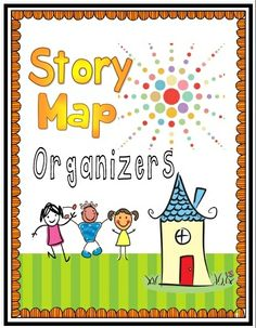 Story Map Organizers (Retelling): Differentiate your retelling lessons with leveled organizers (setting, characters, events/plot, problem, solution).