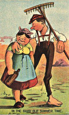 Farmer Image Vintage Farmer Image Large by DigitalArtMovement