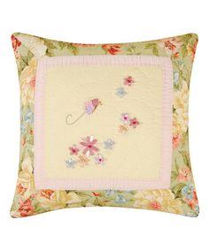 This Garden Melody Ribbon Art Throw Pillow 63faef052b