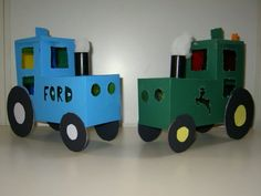 tractor lampion Lego Tractor, Tractors, Activities For Kids, Crafts For Kids, Diy Crafts, Dramatic Play Themes, Box Art, Projects To Try, School