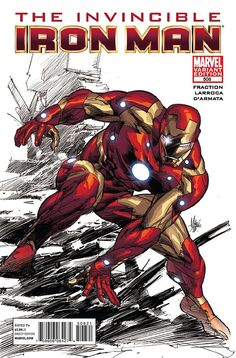 The Invincible Iron-Man #508 Variant Cover by Mike Deodato Jr.