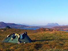 Wild Camping Scotland.