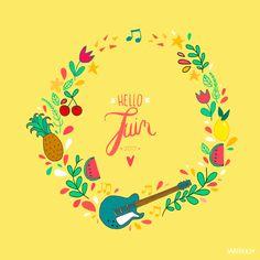 Hello joli mois de juin, tu sens bon le soleil, les rires et les soirées tardives ! ️ Et bien entendu, vous trouverez des goodies a...