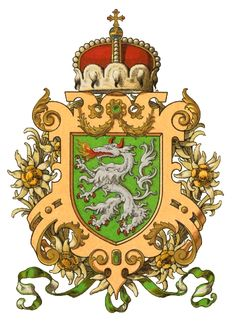 Herzogtum Steiermark; coat of arms of the then duchy of styria