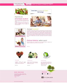#nutricionista, #distritofederal, #website, #html5 www.nutricionistacarolinagama.com.br