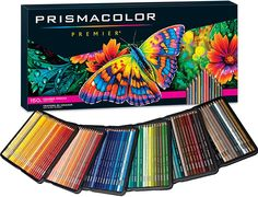 Prismacolor Premier Colored Pencils - Set of 150 for sale online Colores Prismacolor Premier, Crayon Prismacolor, Polychromos, Skull Coloring Pages, Coloring Books, Coloured Pencils, Color Pencil Art, Free Printable Coloring Pages, Adult Coloring