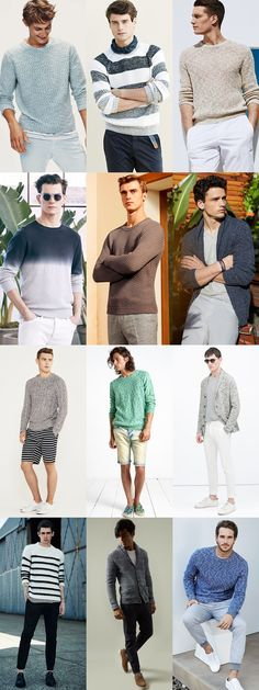 Adding Texture To Your Men's Spring/Summer Looks: Knitwear Outfits Lookbook Inspiration