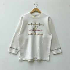 Rare!! Vintage Mr Junko Sweatshirt Embroidery Spellout Junko Koshino Jumper Sweater Sportwear