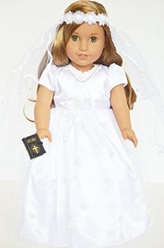 Mini Bible Cross Bag Communion 18 in Doll Clothes Accessory Fits American Girl