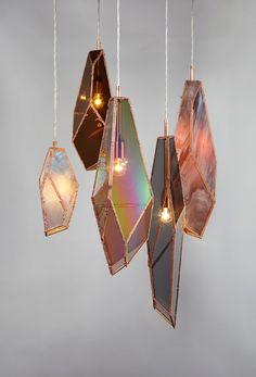 Overnight pendant light collection by Odd Matter Studio