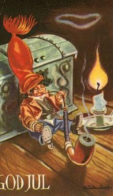 Vintage Postcards, Troll, Scandinavian, Roots, Painting, Art, Costumes, Vintage Travel Postcards, Art Background