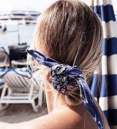 5 formas cancheras de ponerte un pañuelo en la cabeza | Fashion TV