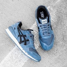 7f1ca8029ff4 Asics Gel-Classic  Blue Mirage Vintage Sneakers