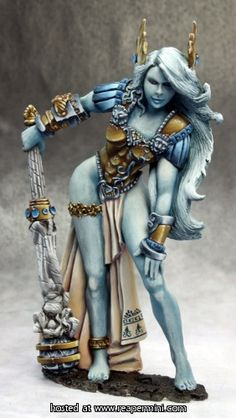 Reaper Miniatures :: Miniatures - beautiful paint job for an inch high miniature!
