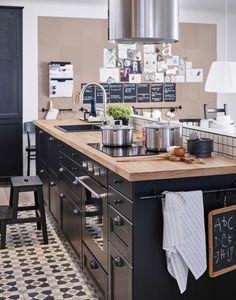 Ett kök med plats för hela familjens vardag