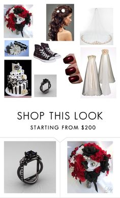 """""""Max Wedding"""" by zayne-jinxie ❤ liked on Polyvore featuring JULIANNE, Converse and Chanel"""